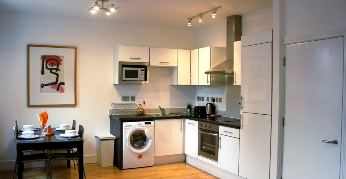 Westciti Chatsworth Road Apartments Furnished Kitchen