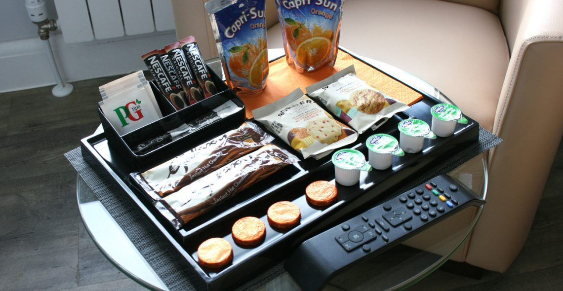 Welcome Coraco Apart Hotel Welcome Tray
